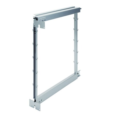 Kessebohmer Base Pullout Frame For Overlay and Inset Doors Silver 546.62.926