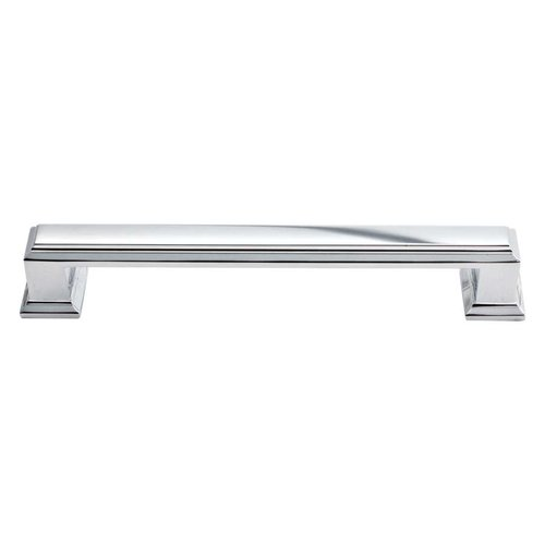 Atlas Homewares Sutton Place 5-1/16 Inch Center to Center Polished Chrome Cabinet Pull 292-CH