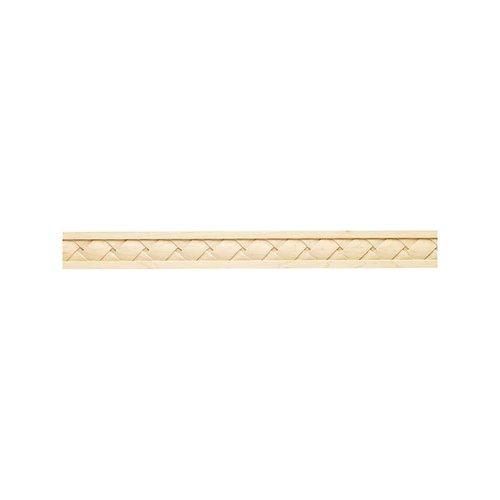 "Hafele Cottage Carved Molding 2"" X 1/2"" X 96"" Maple 198.10.100"