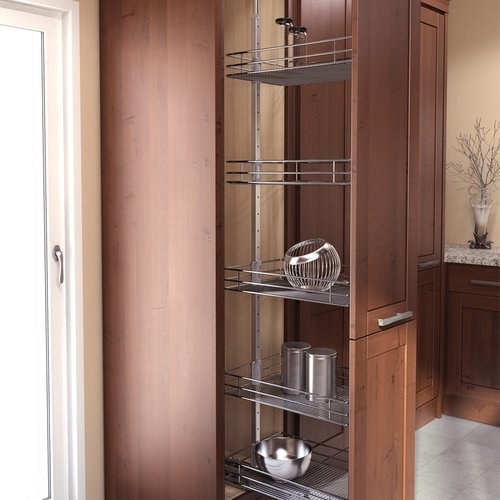 "HSA Pantry Frame 57"" - 67"" Chrome <small>(#9000 4523)</small>"