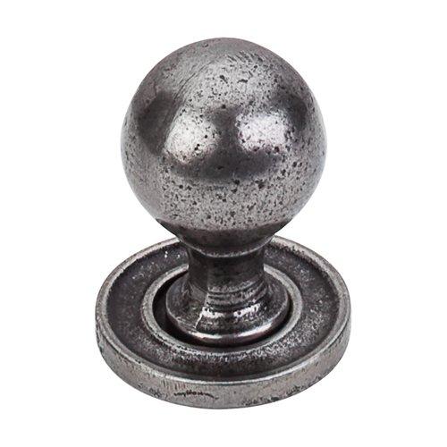 Top Knobs Britannia 1-1/4 Inch Diameter Cast Iron Cabinet Knob M50