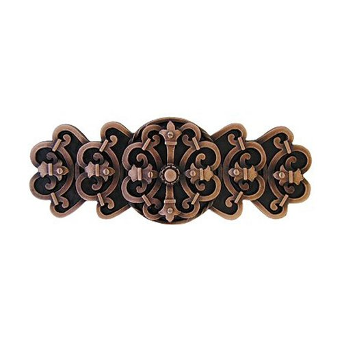 Notting Hill Olde World 3 Inch Center to Center Antique Copper Cabinet Pull NHP-676-AC