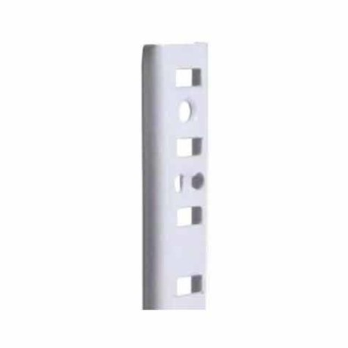 "Knape and Vogt KV #255 Steel Pilaster Strip- White 18"" 255 WH 18"
