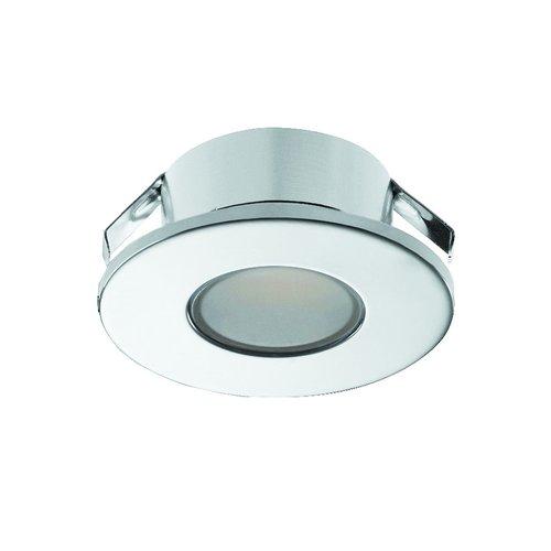 Hafele Loox 2022 12V LED Chrome Spotlight Warm White 833.72.043