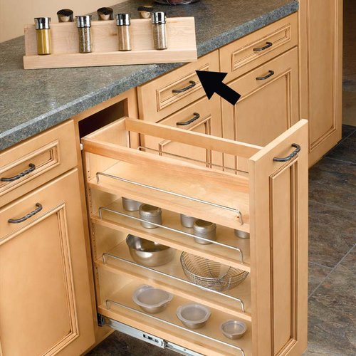 Rev-A-Shelf Rev A Shelf Spice Rack For RV448BC8C 448-SR8-1