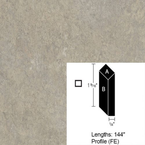 Wilsonart Bevel Edge - Brune Slate - 12 Ft <small>(#CE-FE-144-1763-60)</small>