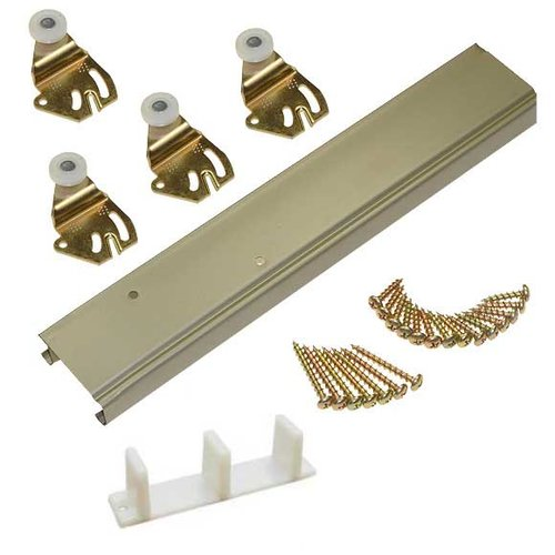 "Johnson Hardware 1138 Series Bypass Track Set For 2 Doors 72"" 1138722D"