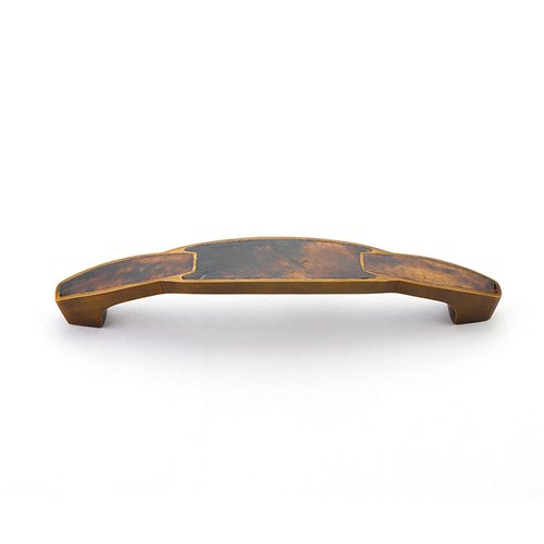 Schaub and Company Tiger Penshell 6 Inch Center to Center Tiger Penshell, Estate Dover Cabinet Pull 992-6-PEN/ED