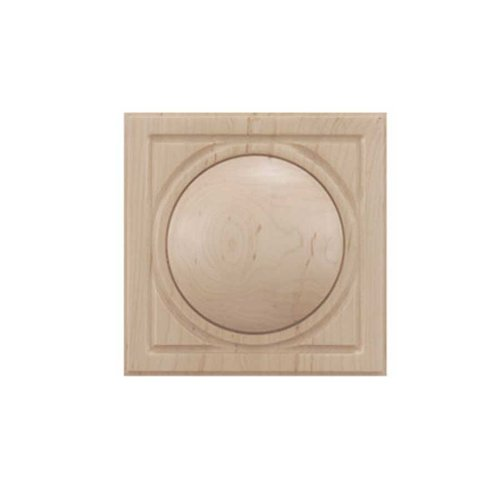 Brown Wood Small Infinity Tile Unfinished Hard Maple 01901038HM1