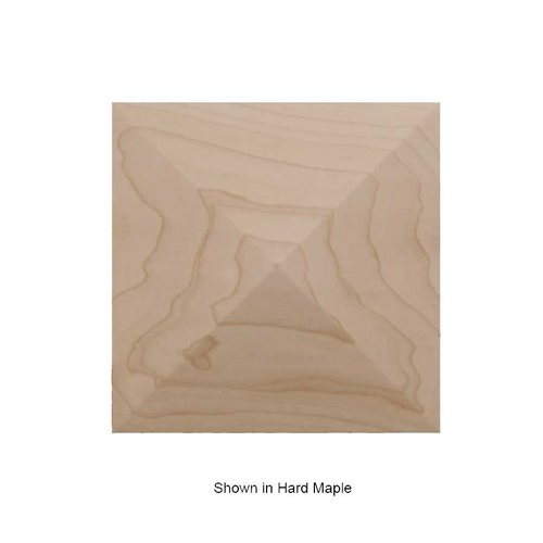 Brown Wood Pinnacle Square Tile Unfinished Cherry 01902516CH1