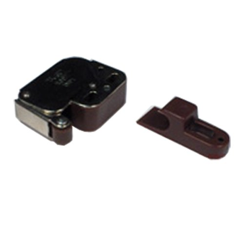 Mini Touch Latch - Brown