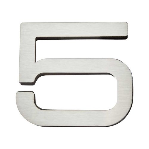 Atlas Homewares Paragon House Number Five Stainless Steel PGN5-SS