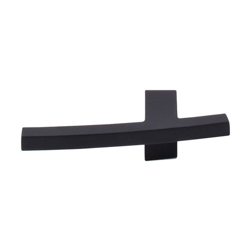 Top Knobs Sanctuary 3 Inch Length Flat Black Cabinet Knob TK84BLK