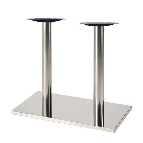 "16"" X 28"" Rectangular Table Base - Stainless Steel 28-5/8"" H <small>(#50RE-28-SS)</small>"