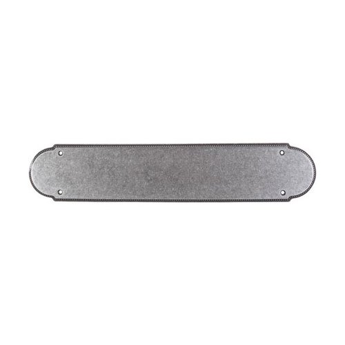 Top Knobs Appliance Pull 15 Inch Length Pewter Back-plate M896