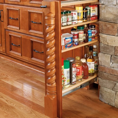"Rev-A-Shelf 432 Base Filler 6"" - Wood 432-BF-6C"