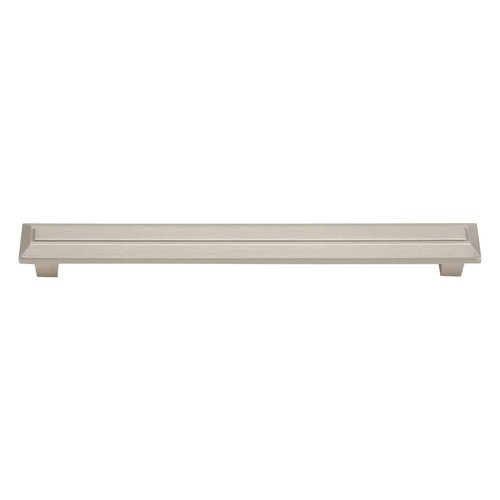 Trocadero 6-5/16 Inch Center to Center Brushed Nickel Cabinet Pull <small>(#284-BRN)</small>
