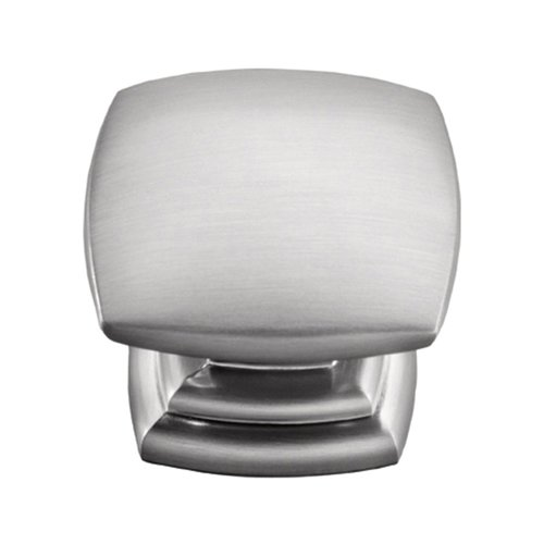 Hickory Hardware Euro-Contemporary 1-1/2 Inch Diameter Stainless Steel Finish Cabinet Knob P2163-SS