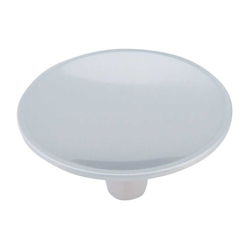 Dap 2-1/2 Inch Diameter Brushed Nickel Cabinet Knob <small>(#233-BRN)</small>