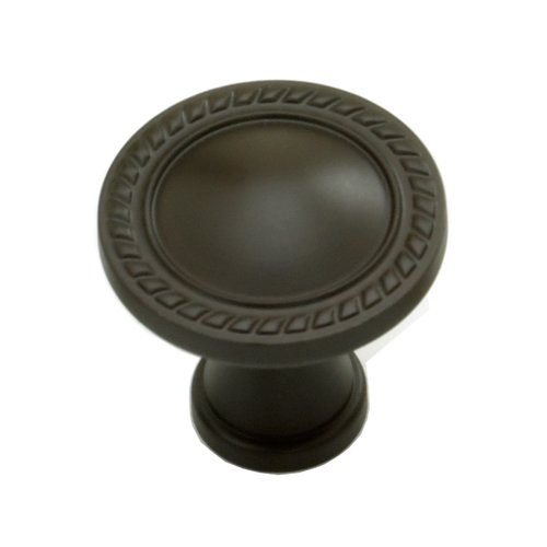 Schaub and Company Montcalm Forged Solid Brass 1-3/8 Inch Diameter Oil Rubbed Bronze Cabinet Knob 794-10B
