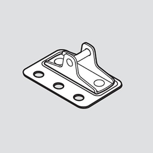 Blum HK-XS Door Mounting Plate Screw On For Large Overlay 20K4501