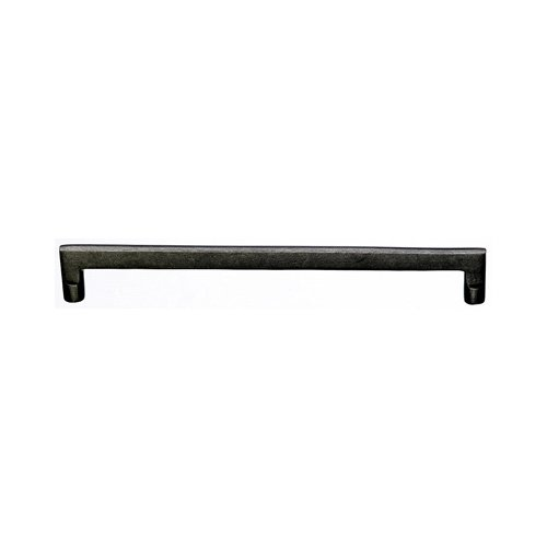 Top Knobs Aspen 12 Inch Center to Center Silicon Bronze Light Cabinet Pull M1375