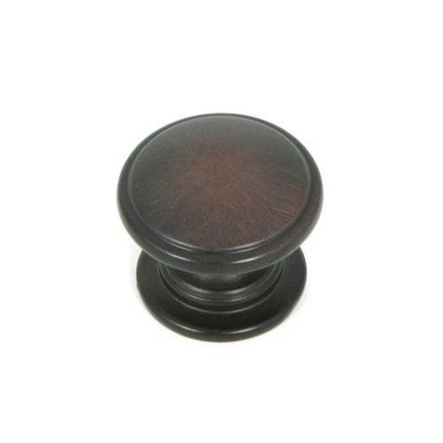 Stone Mill Hardware Princeton 1-1/4 Inch Diameter Oil Rubbed Bronze Cabinet Knob CP80980-OB
