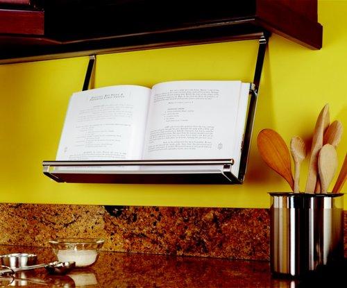Kessebohmer Cookbook Holder For Backsplash Rail System Stainless Look 521.61.627