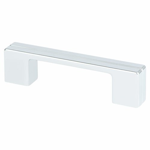 Berenson Skyline 3-3/4 Inch Center to Center Polished Chrome Cabinet Pull 9201-1026-P
