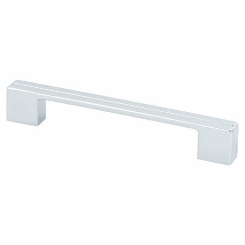 Berenson Skyline 6-5/16 Inch Center to Center Polished Chrome Cabinet Pull 9204-1026-P
