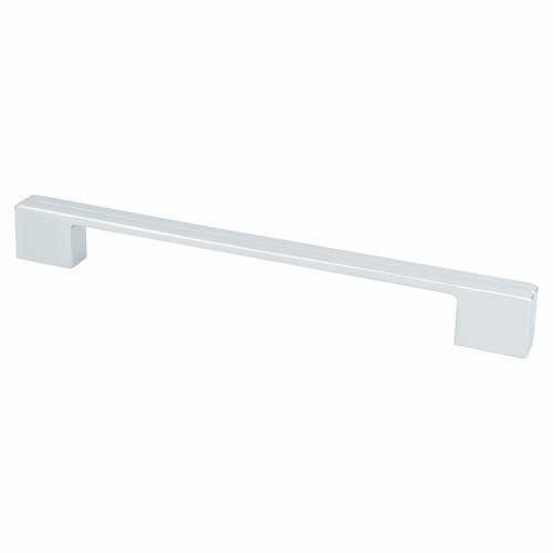 Berenson Skyline 8-13/16 Inch Center to Center Polished Chrome Cabinet Pull 9207-1026-P