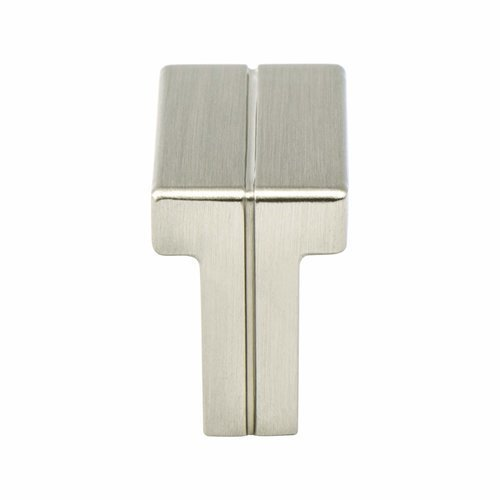 Berenson Skyline 1-3/8 Inch Length Brushed Nickel Cabinet Knob 9209-1BPN-P
