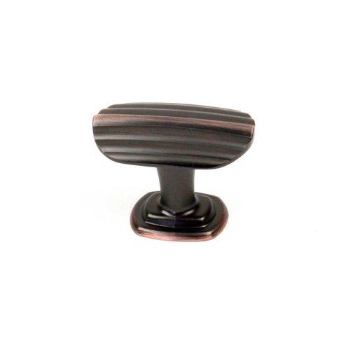Century Hardware Isis 1-1/2 Inch Diameter Antique Bronze W/ Copper Cabinet Knob 27305-AZC