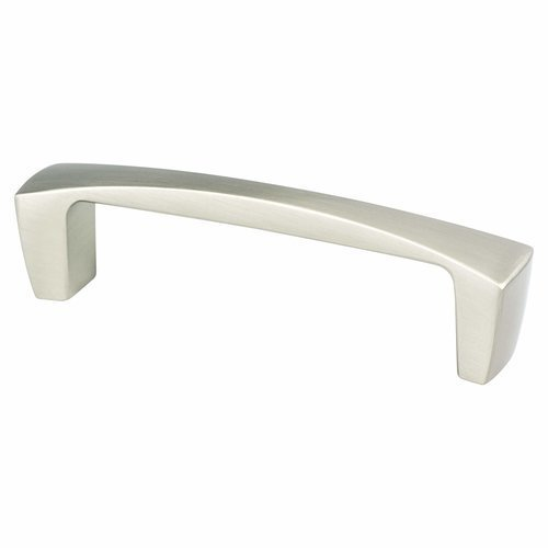 Aspire 3-3/4 Inch Center to Center Brushed Nickel Cabinet Pull <small>(#9231-1BPN-P)</small>