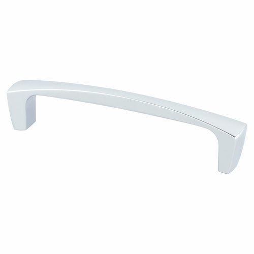 Berenson Aspire 5-1/16 Inch Center to Center Polished Chrome Cabinet Pull 9233-1026-P