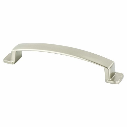 Berenson Oasis 5-1/16 Inch Center to Center Brushed Nickel Cabinet Pull 9249-1BPN-P