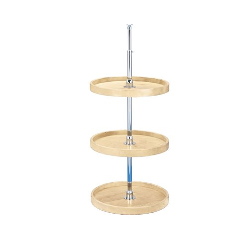 "Rev-A-Shelf 4WLS 3 Shelf Full Circle Wood 18"" 4WLS073-18-536"