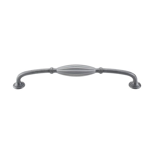 Top Knobs Tuscany 8-13/16 Inch Center to Center Pewter Light Cabinet Pull M470