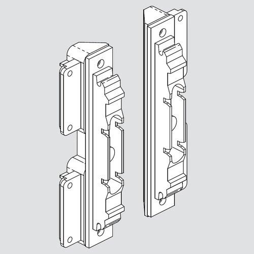 Blum Aventos Narrow Aluminum Door Hdw Set 20S4200AS1