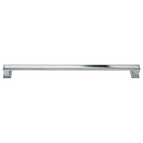 Atlas Homewares Sutton Place 11-5/16 Inch Center to Center Polished Chrome Cabinet Pull 337-CH