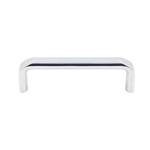 Top Knobs Devon Exeter Pull 3 3/4 inch Center to Center Polished Chrome TK872PC