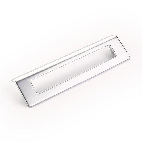 Schaub and Company Finestrino 6-5/16 Inch Center to Center Matte Chrome Cabinet Pull 451-M26