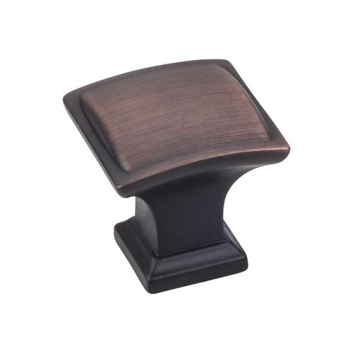 Jeffrey Alexander Annadale 1-1/4 Inch Diameter Brushed Oil Rubbed Bronze Cabinet Knob 435DBAC