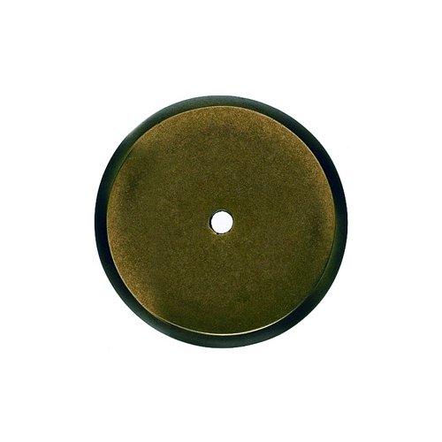 Top Knobs Aspen 1-3/4 Inch Diameter Light Bronze Back-plate M1466