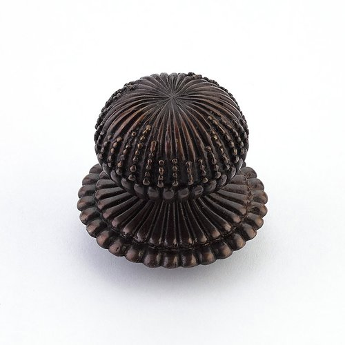 Schaub and Company Sonata 1-1/4 Inch Diameter Dark Antique Bronze Cabinet Knob 969M-DAB
