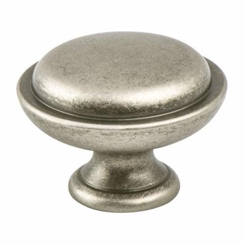 Berenson Advantage Plus 1 1-1/8 Inch Diameter Weathered Nickel Cabinet Knob 9337-10WN-P