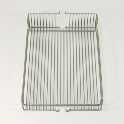 "Kessebohmer Wire Basket Set (2) 19"" Wide Chrome 546.63.225"