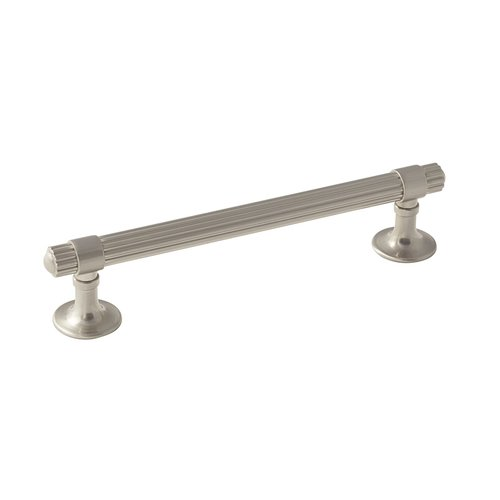 Amerock Seagrass 5-1/16 Inch Center to Center Satin Nickel Cabinet Pull BP36622G10