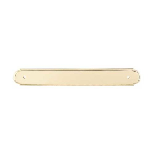 Top Knobs Appliance Pull 12 Inch Center to Center Polished Brass Back-plate M864