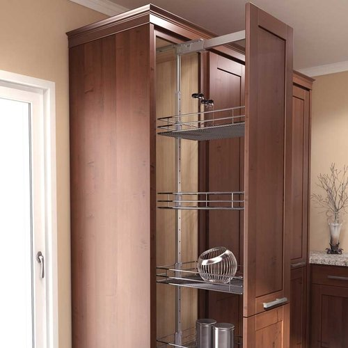 "HSA 13-3/4 inch W Four Basket Pantry Set 57""-67 inch H <small>(#9000 2174 350)</small>"